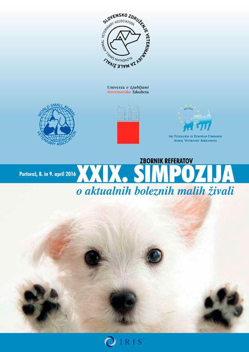 29. Simpozij o aktualnih boleznih malih živali