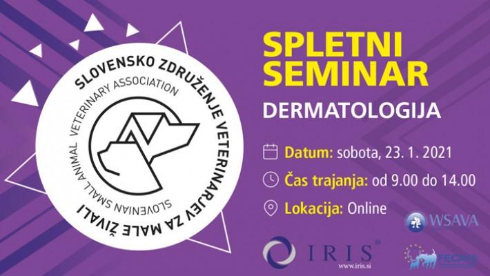 Dermatološki spletni seminar